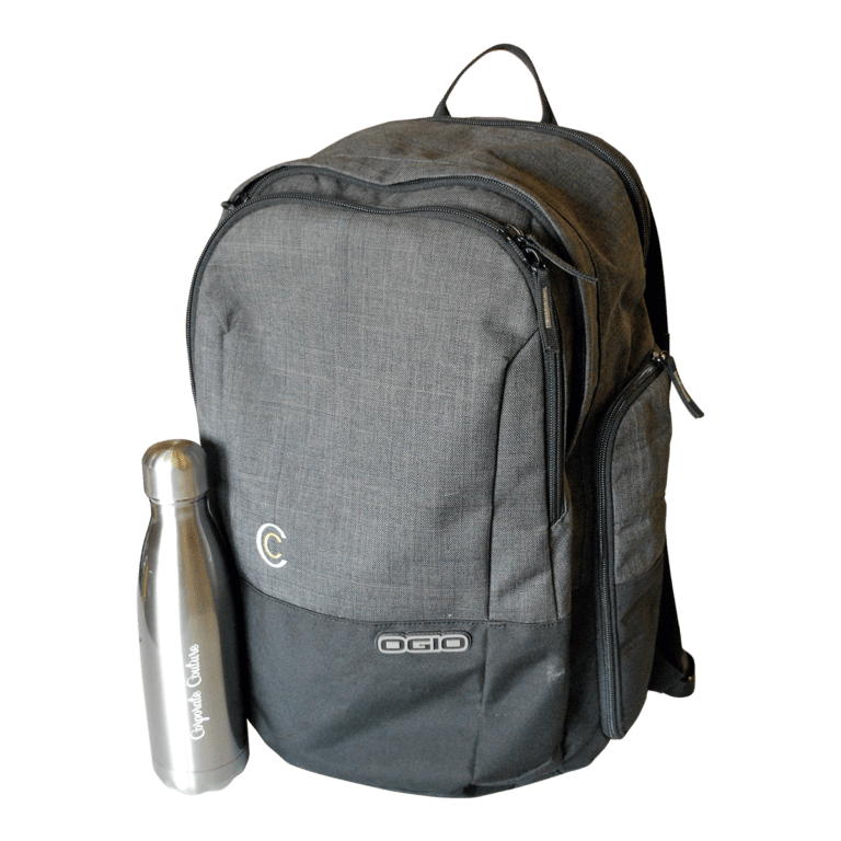 CC bag and bottle