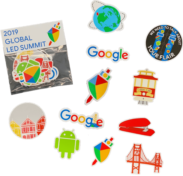 Google San Francisco Stickers