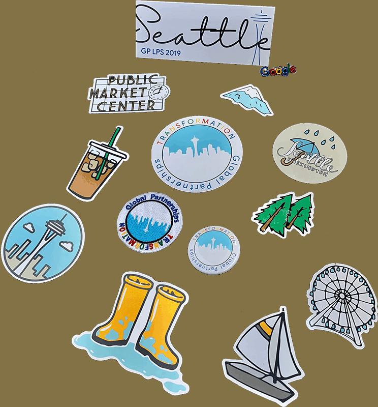 Google Seattle Stickers